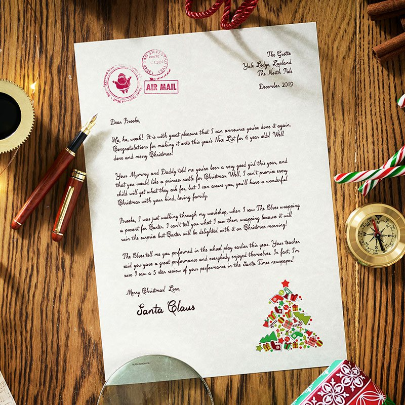 Authentic Santa Letter