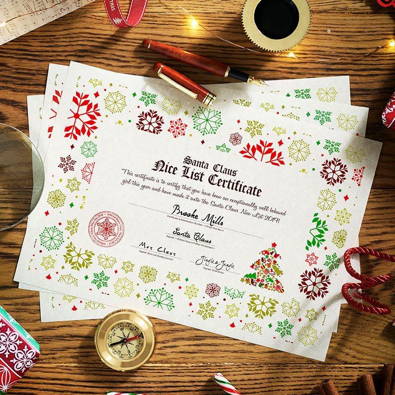 Authentic Premium Santa Letter