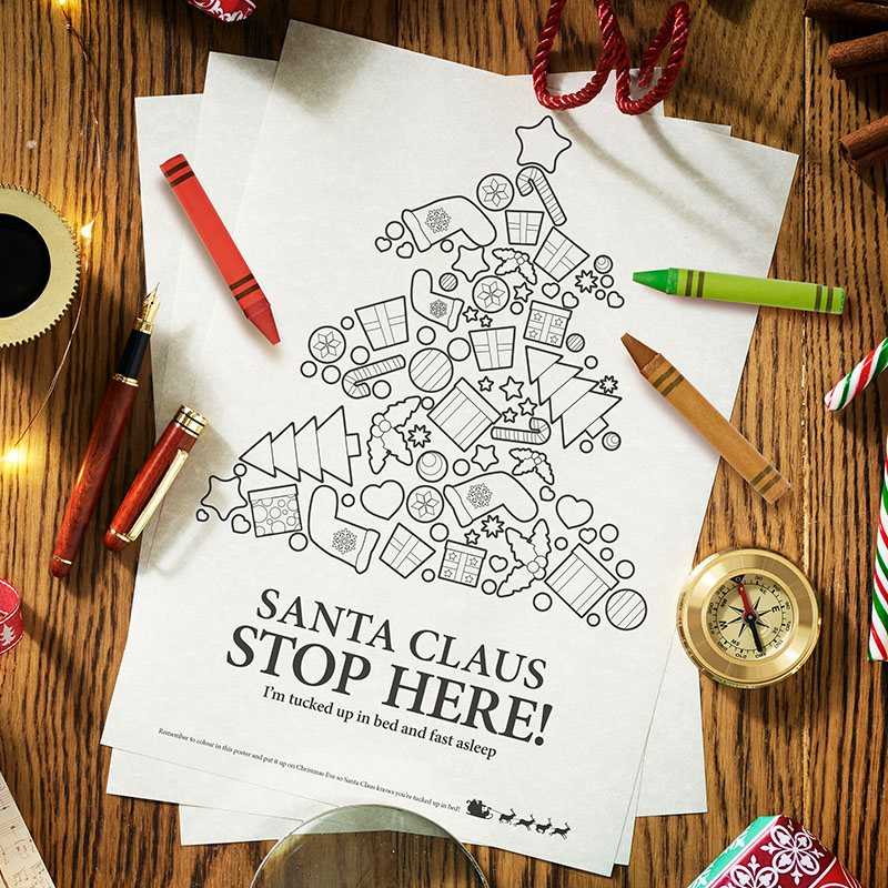 Authentic Write Your Own Santa Letter