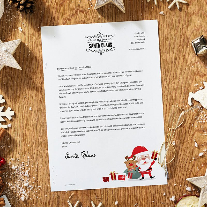 Traditional Santa Letter