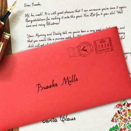 Another fantastic review of our letter from Santa Claus!