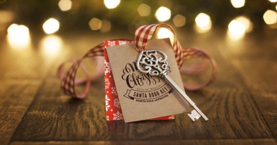 Our Magic Santa Key is back in stock!